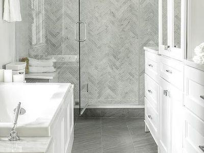 4 Inexpensive Ways To Refresh Bathroom Floors
