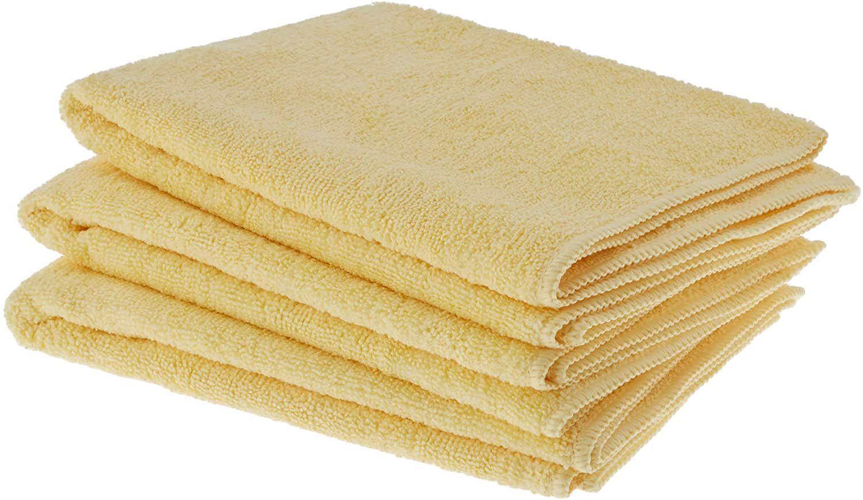 AmazonBasics Thick Microfiber Cleaning Cloths