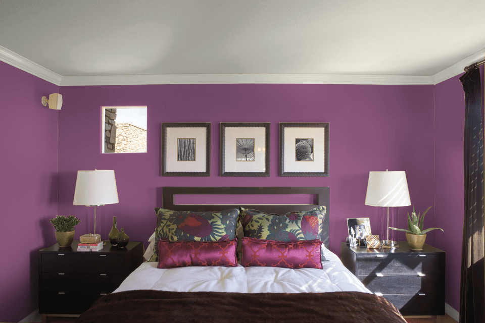 purple and pink bedrooms 10 great pink and purple paint colors for the bedroom 16825