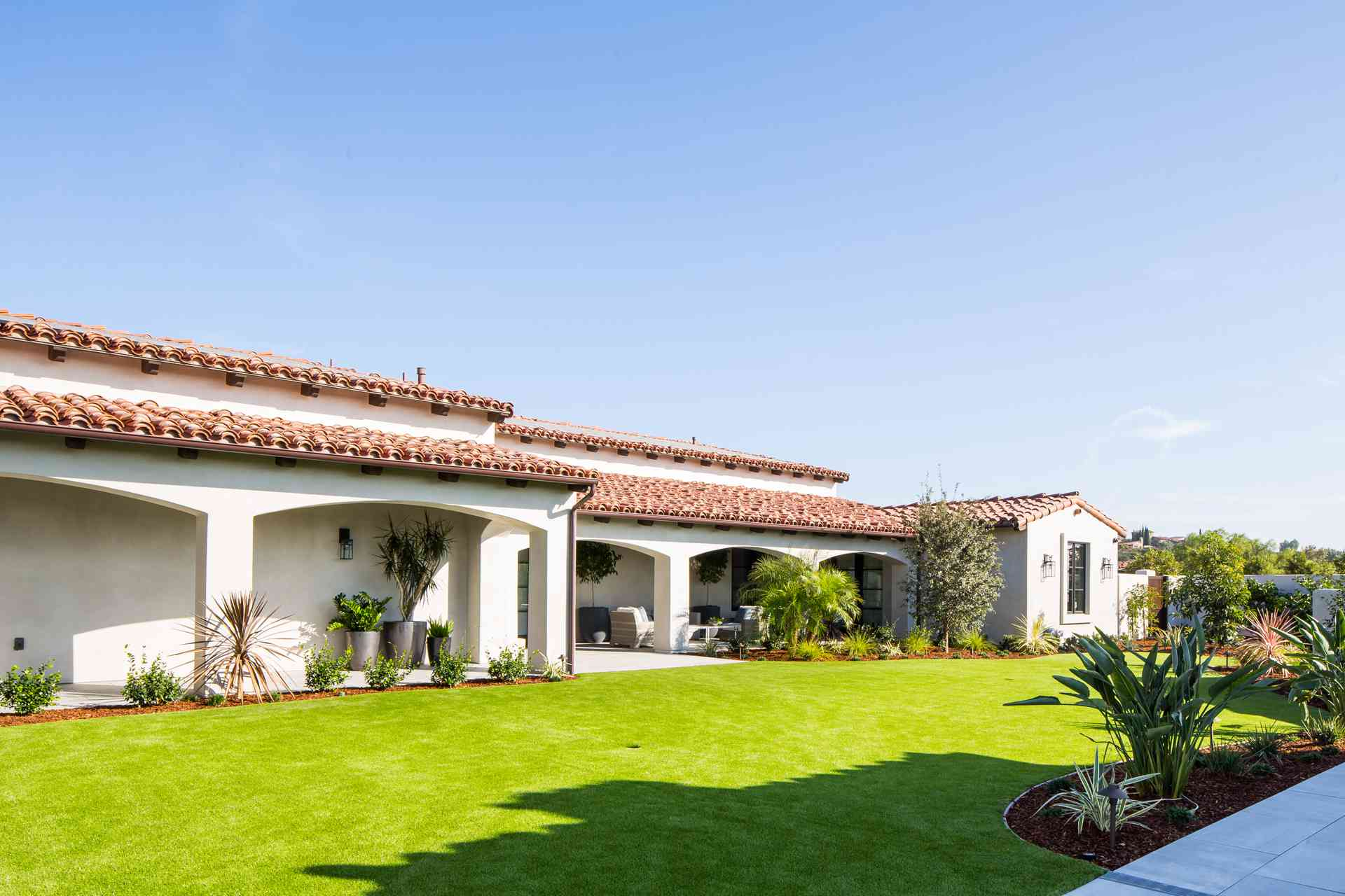 spanish colonial ranch house