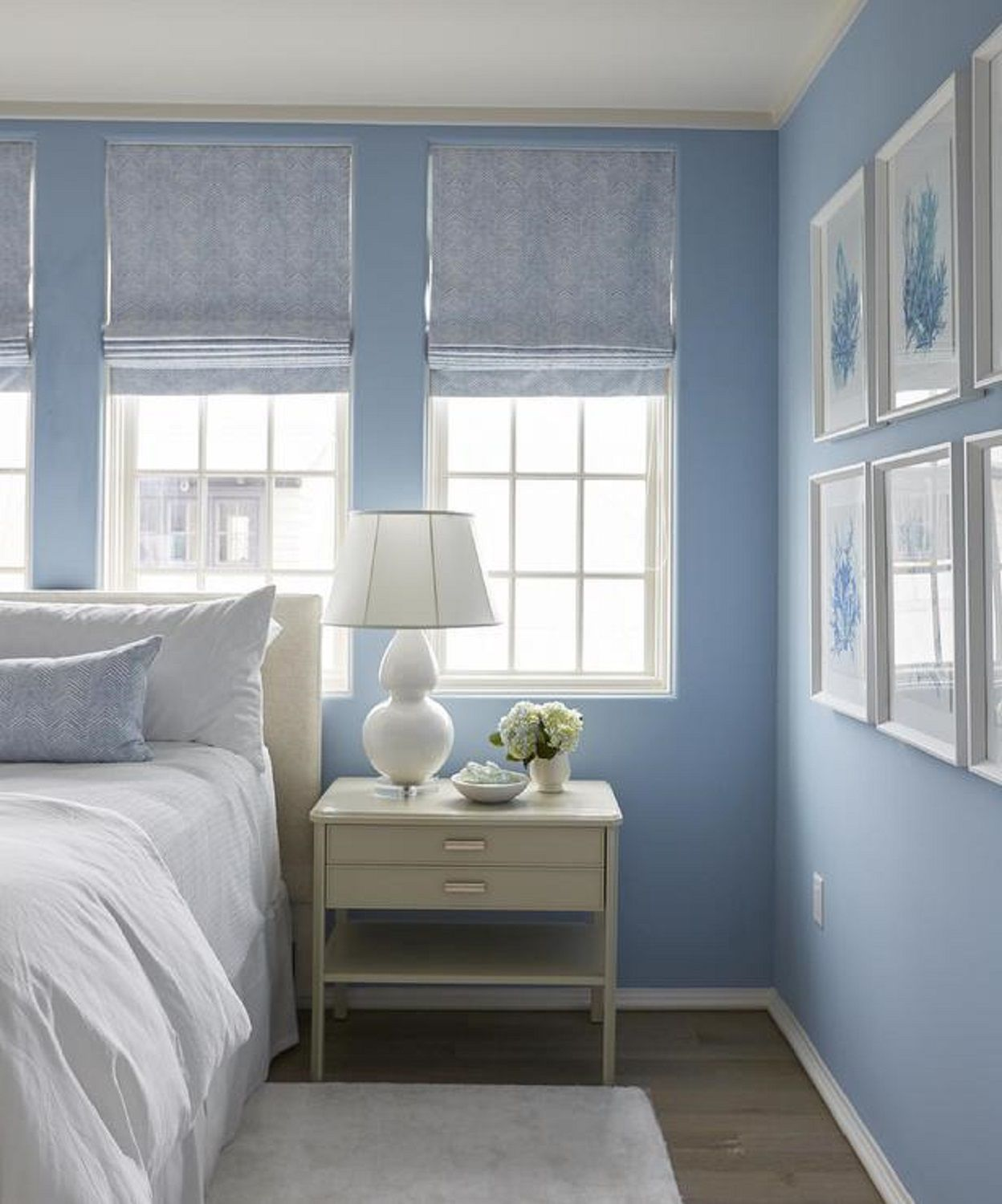 25 Stunning Blue Bedroom Ideas - Blue-bedroom-interior