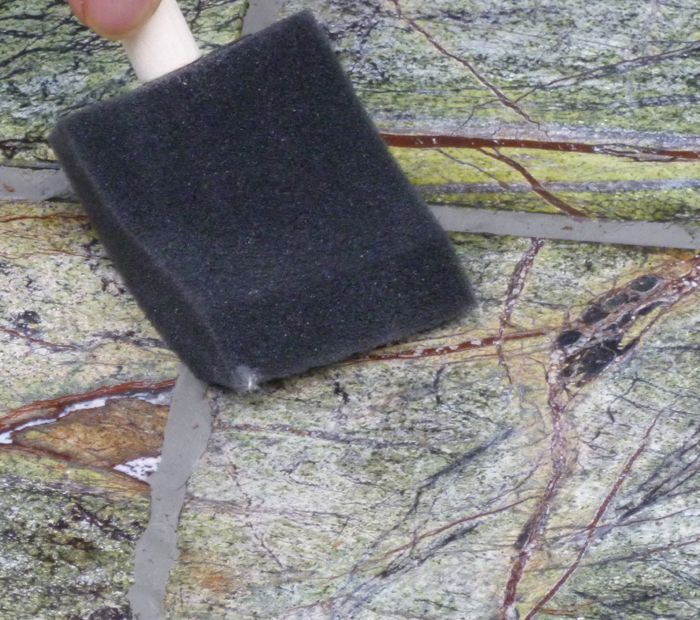 A test marble sealer