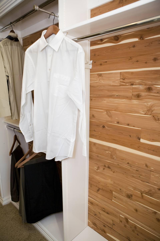 Walk in Cedar Closet