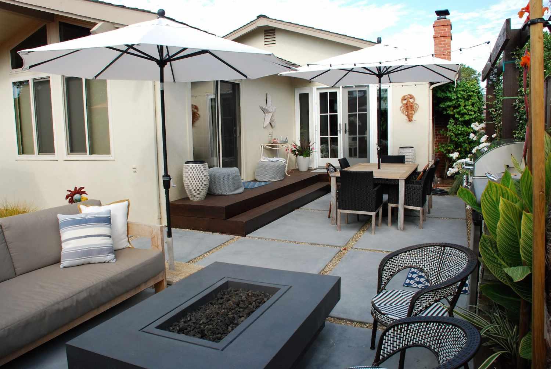 diseños de patio pequeño