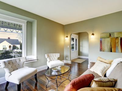 Living Room Paint Ideas To Make It Look Bigger use paint to alter a room's size or shape