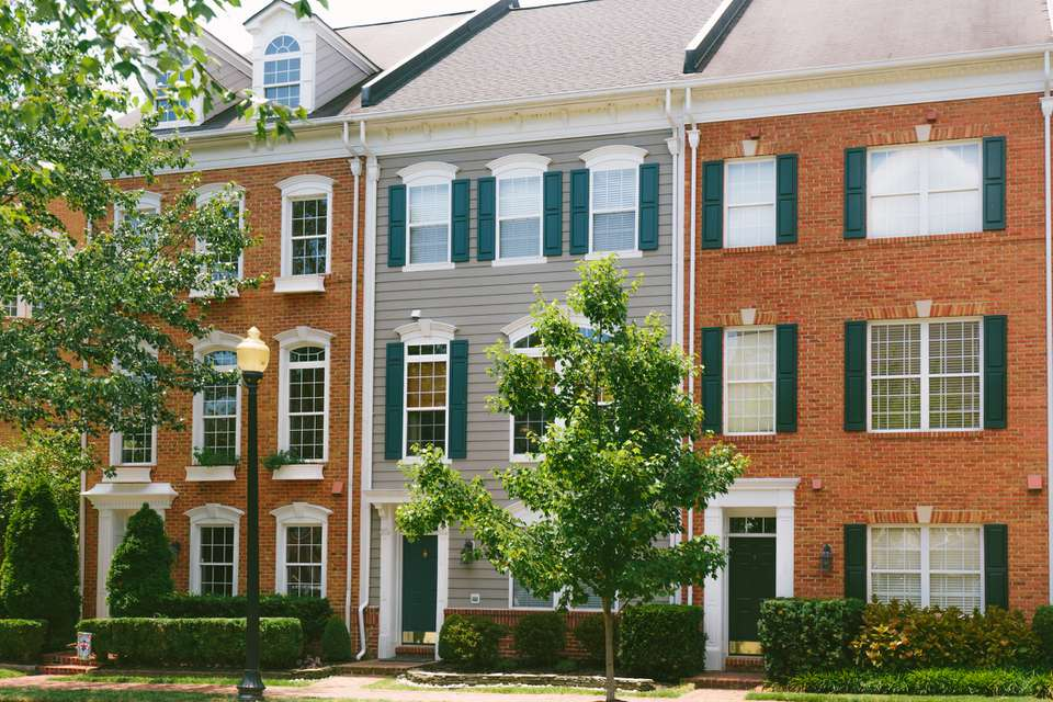 Townhomes in Alexandria, Virginia