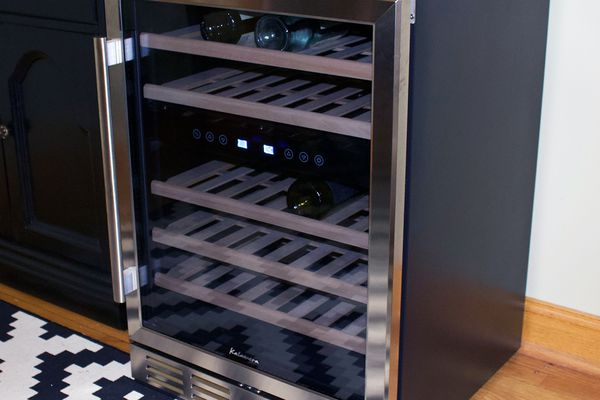 Kalamera 46-Bottle Dual Zone Wine Cooler