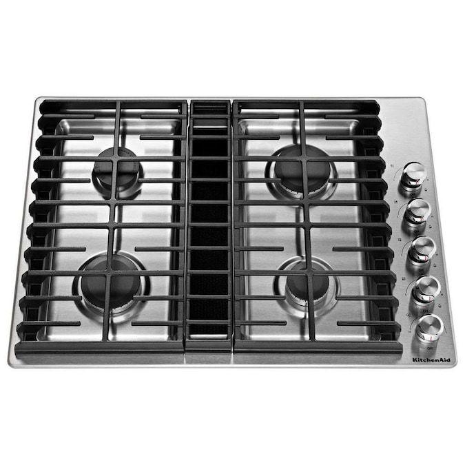 kitchenaid-four-burner-downdraft-gas-cooktop