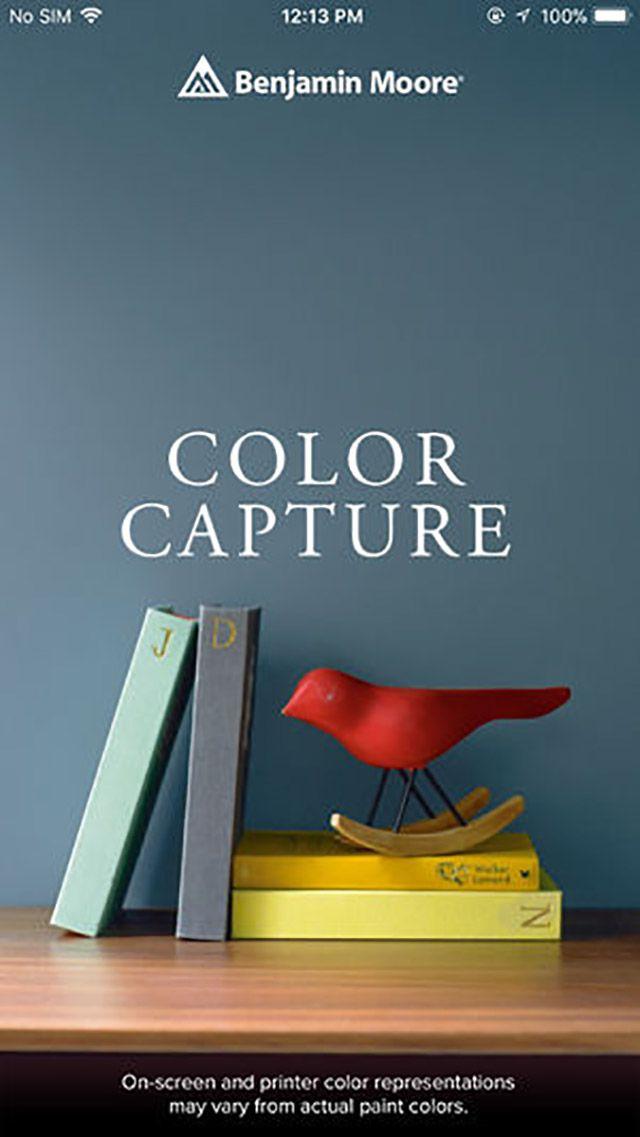color capture benjamin moore app