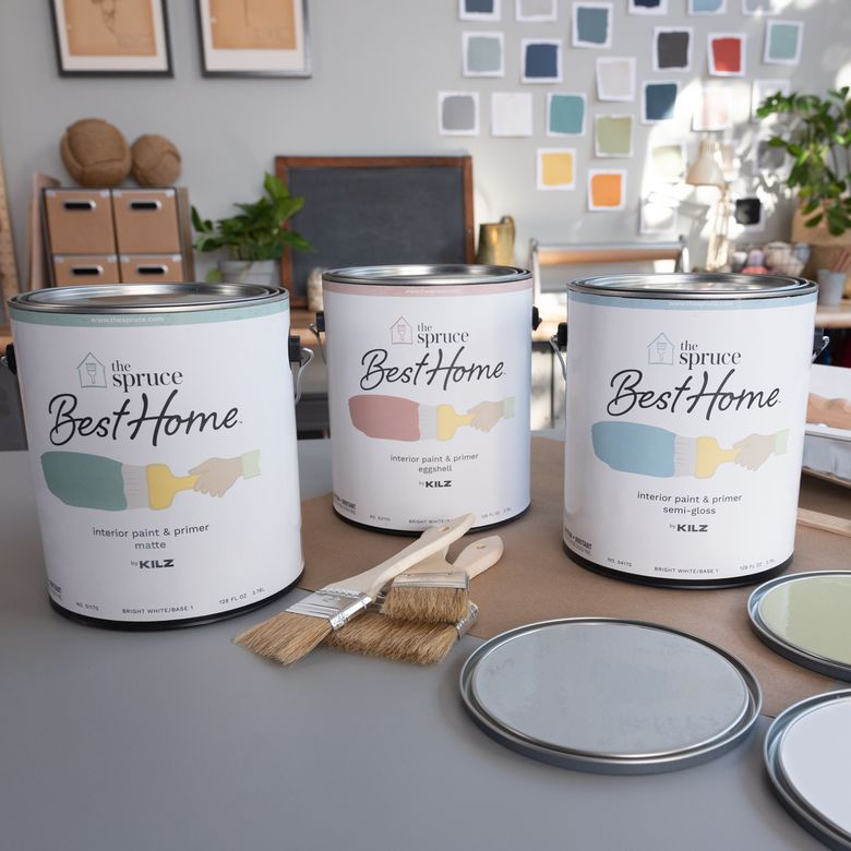 The Spruce Best Home Paint cans