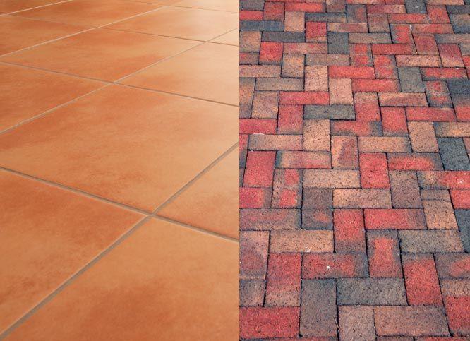 Porcelain Vs Ceramic Tile A Detailed Comparison: Brick Versus Ceramic Tile Flooring