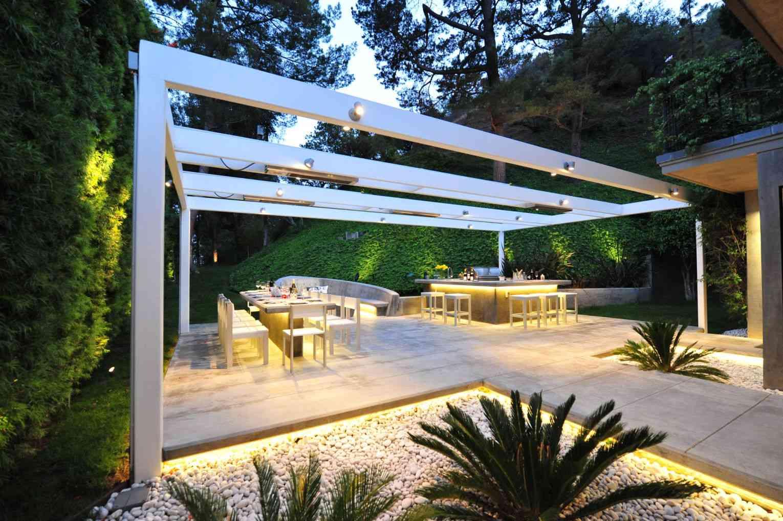 diseños de iluminación exterior