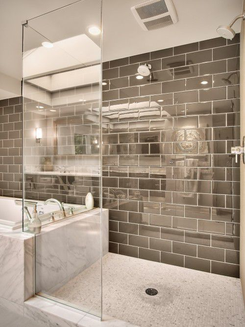 Inspirational Tile Shower Designs without Doors
