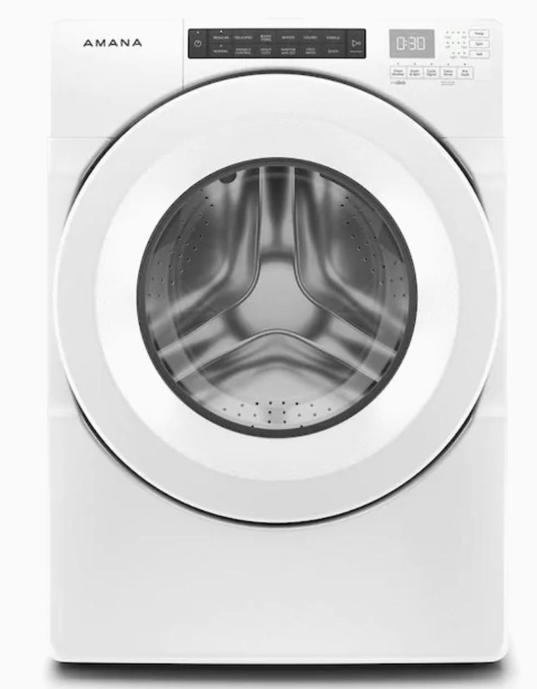 Amana NFW5800HW Stackable Front-Load Washer