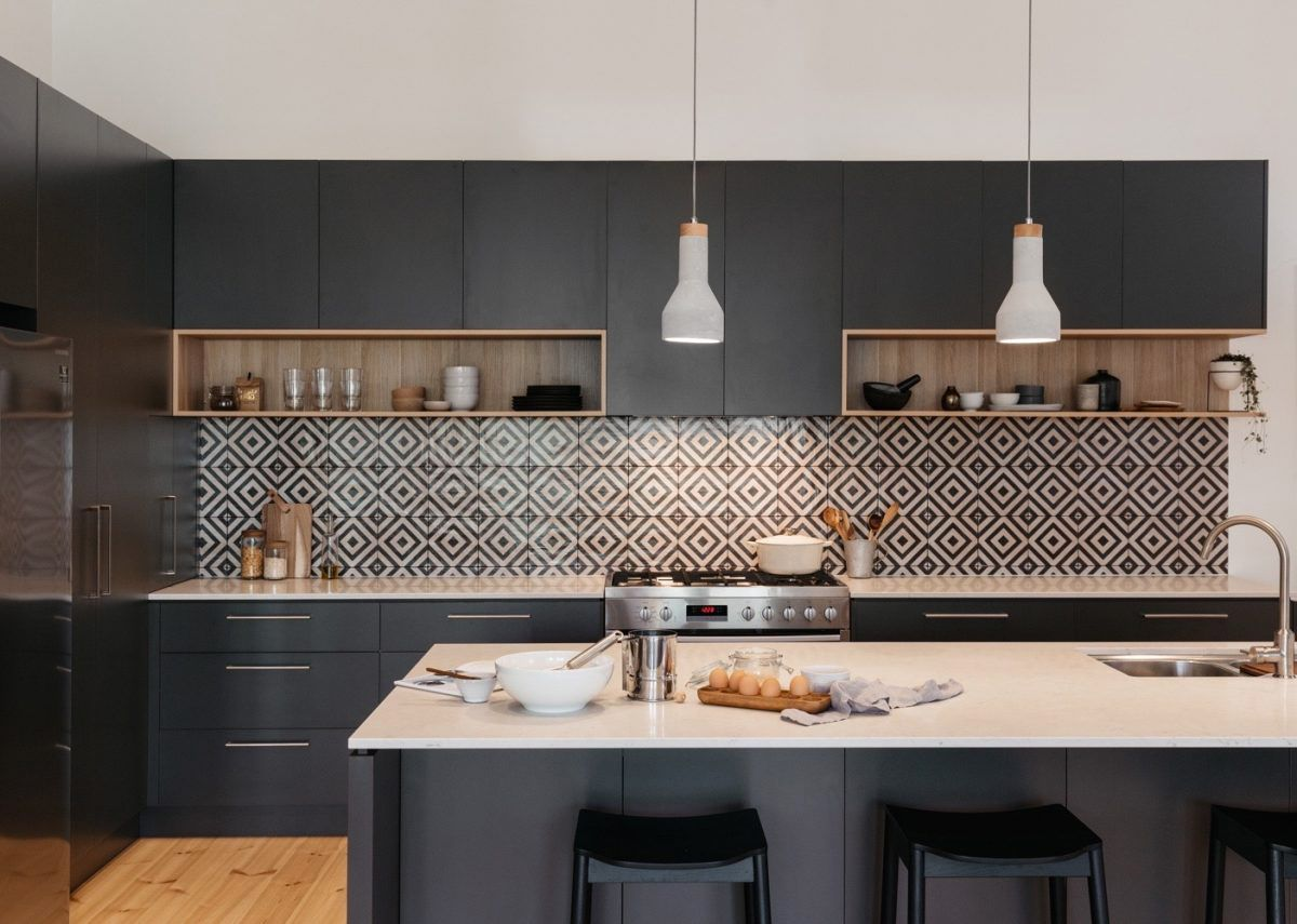 Swell 25 Black Kitchen Ideas Download Free Architecture Designs Lectubocepmadebymaigaardcom