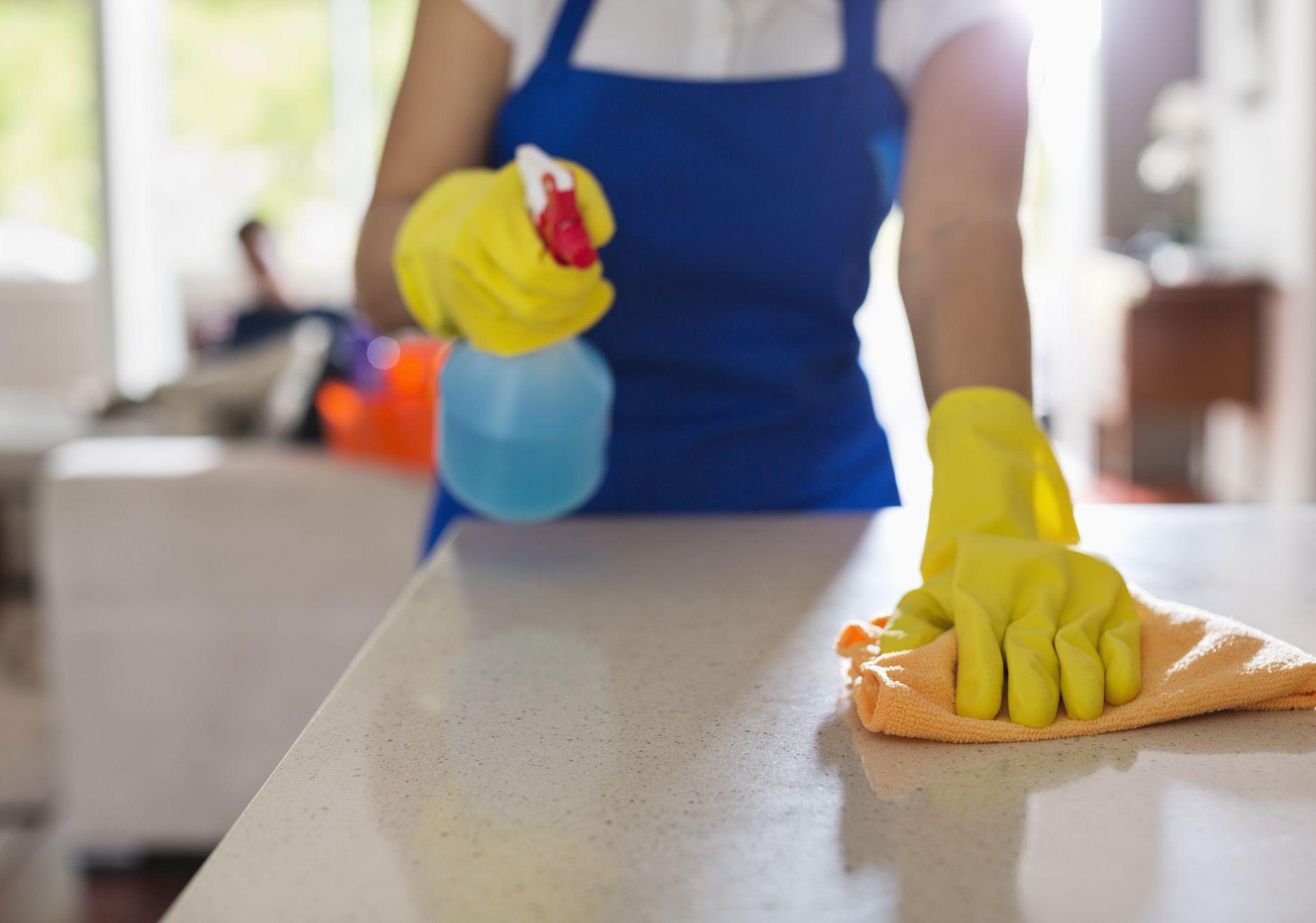 Cleaning Plastic Laminate Countertop