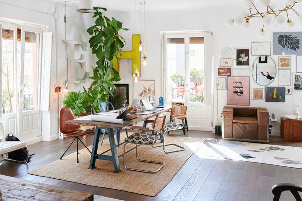 Bright, fun home interior