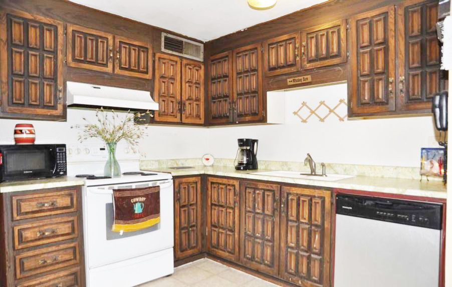 Ugliest Kitchen Cabinets