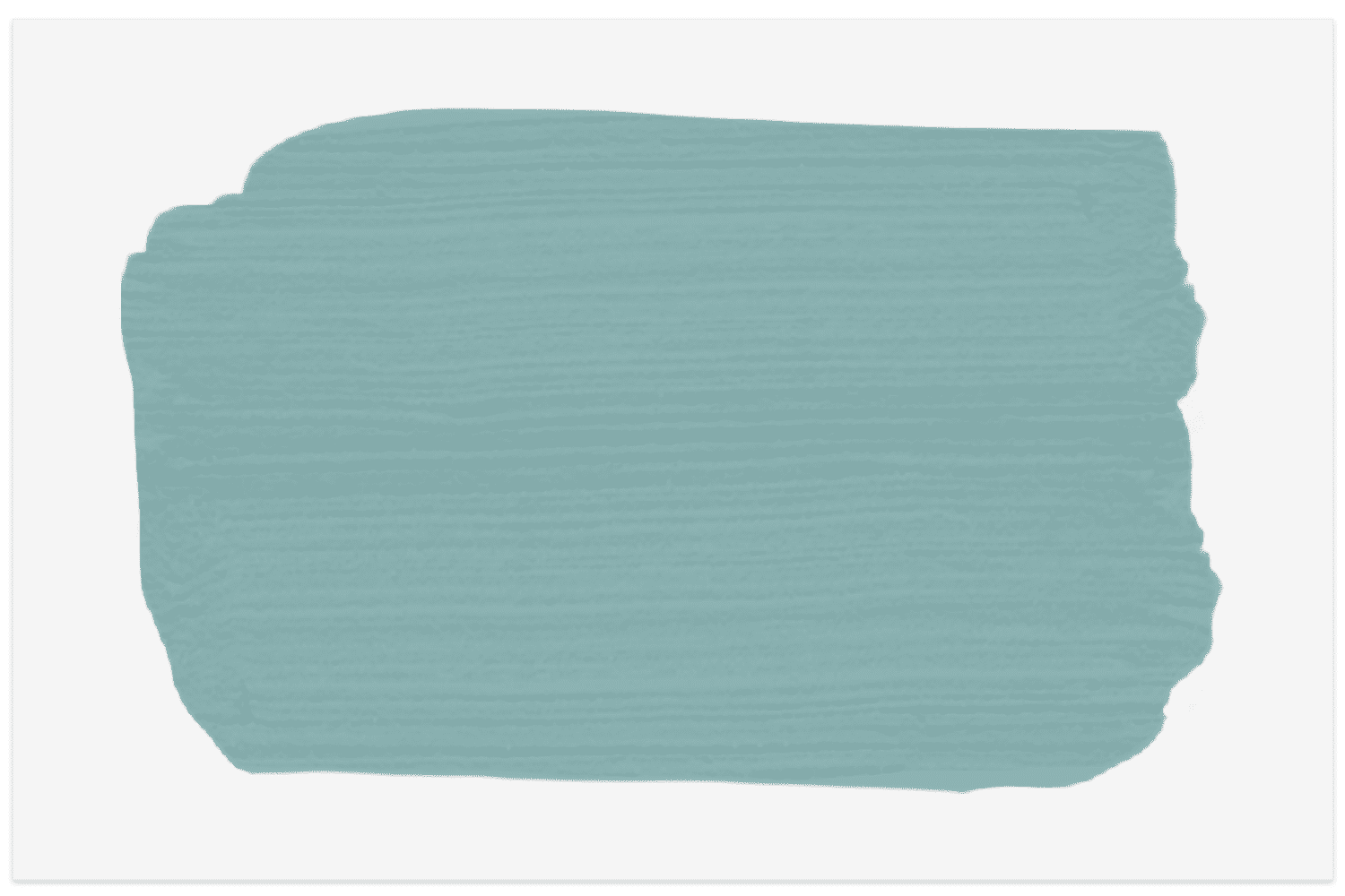 Paint swatch of Turquoise Porcelain by Valspar