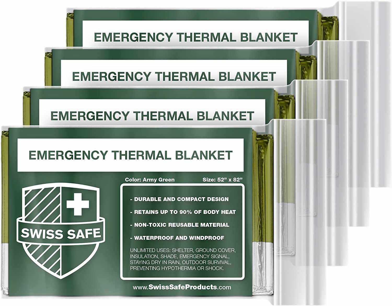 Swiss Safe Emergency Blanket