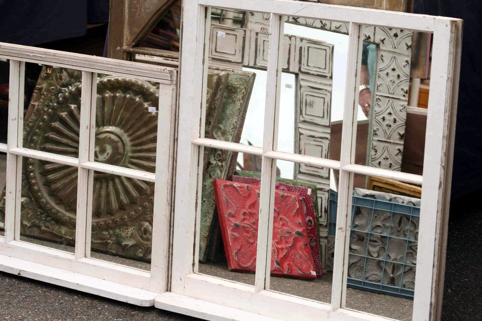 Mirrors made from old windows