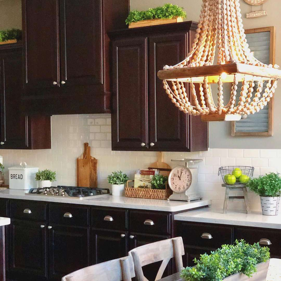 Plants On Top Of Kitchen Cabinets 9 Ways to Decorate Above Your Kitchen Cabinets