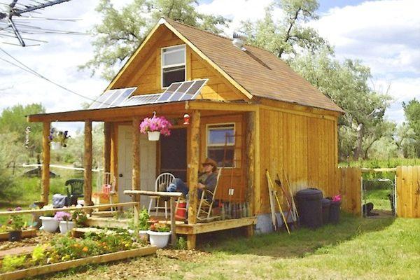 An Off the grid Tiny House