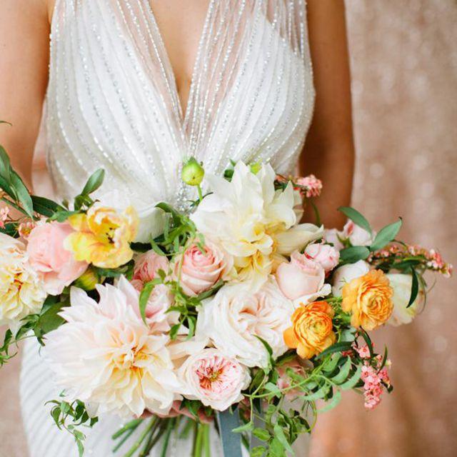 Dahlia Summer Wedding Bouquet