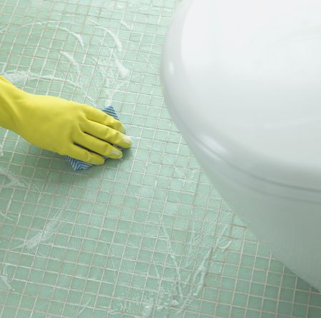 Grout Haze Cleaning Is Easier With This Method - Cleaning grout off porcelain tile