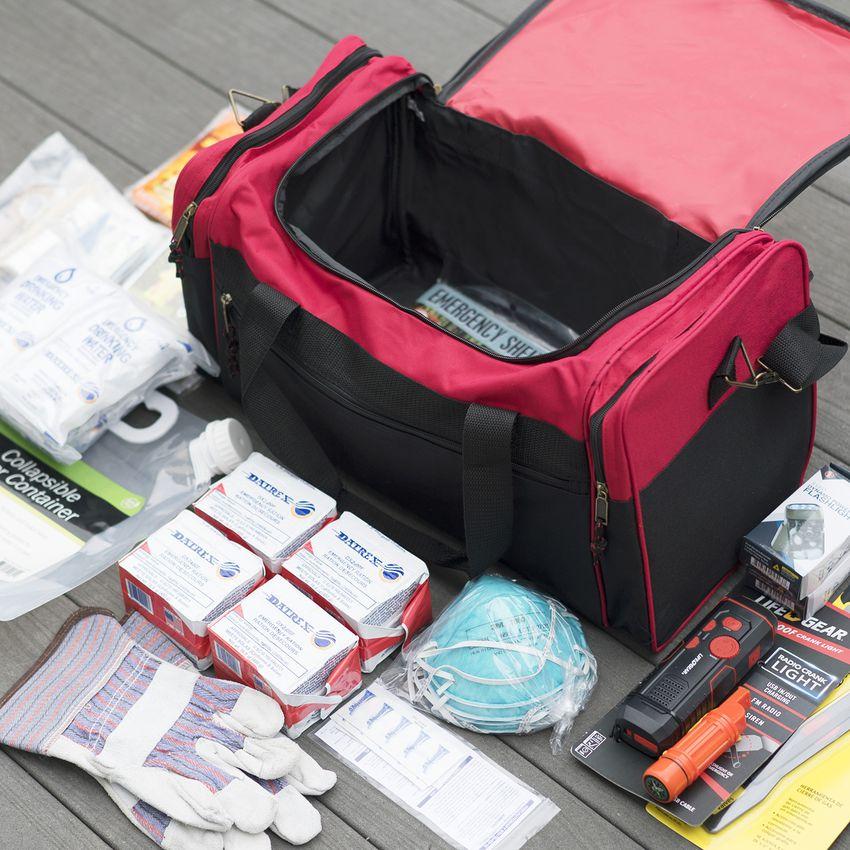 Survival Prep Warehouse 4-Person Survival Kit Deluxe