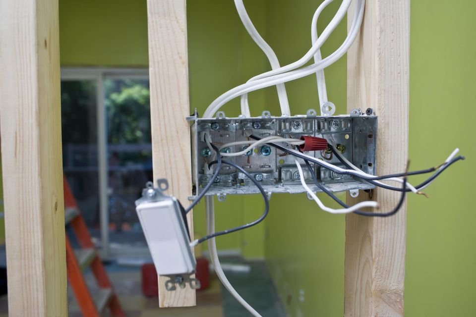Installation of a switch box