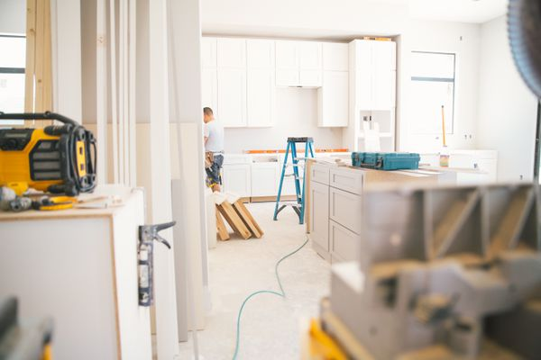 Fitting a kitchen