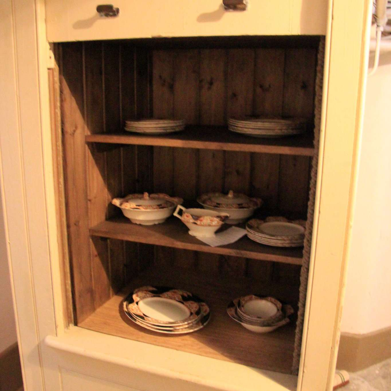 Vintage dumbwaiter in a stately home