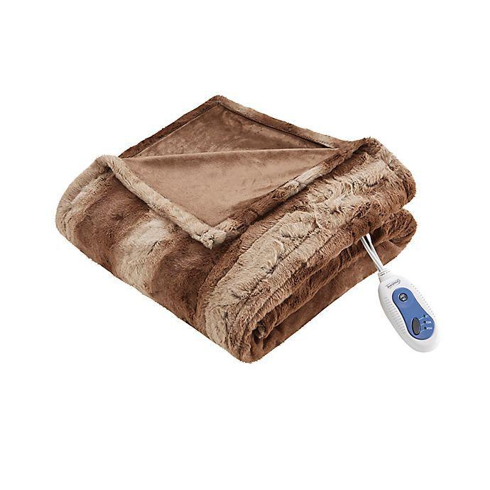 Beautyrest Zuri Heated Throw Blanket