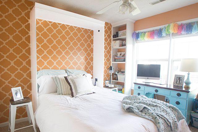 Guest-Room-DIY-Murphy-Bed