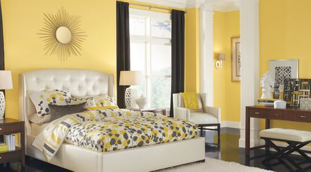 Sherwin Williams Yellow Bedroom