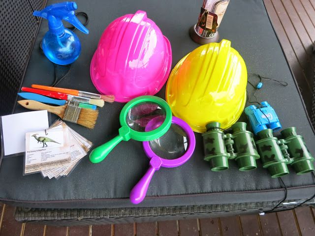 A bunch of tools for dinosaur investigation