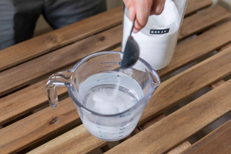 adding borax to water