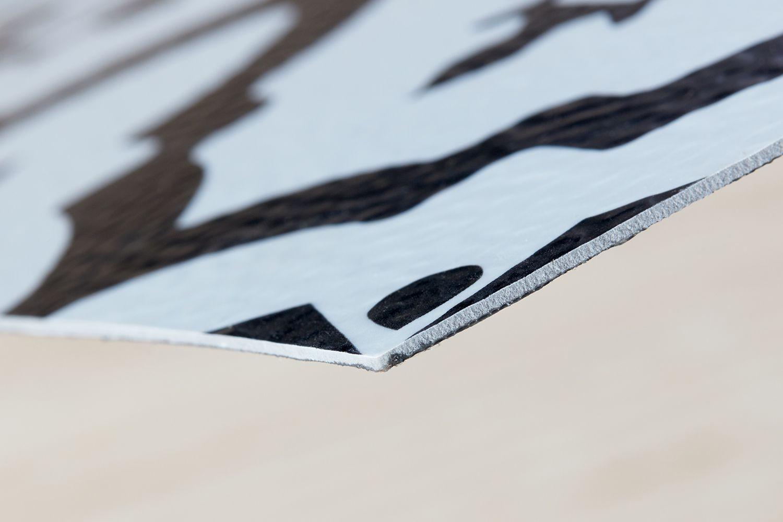 resilient vinyl tile