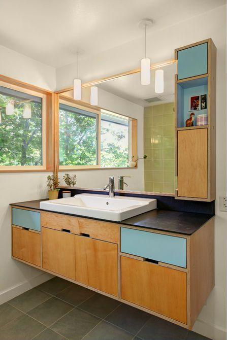 tocador de baño moderno