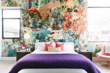 ultra violet bedspread