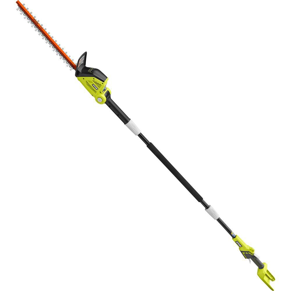 RYOBI 18 in. 40-Volt Lithium-Ion Cordless Pole Hedge Trimmer