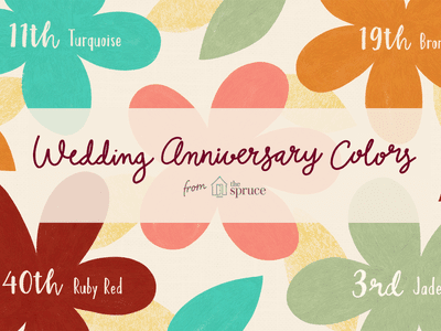 Traditional Wedding Anniversary Colors · Gift Ideas