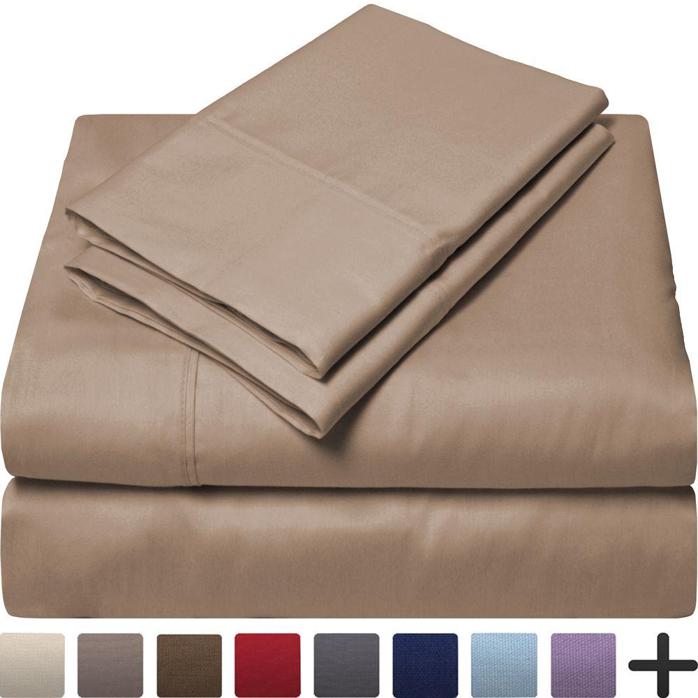 Best Budget Egyptian Cotton 300 Thread Count Sa Queen Sheet Set