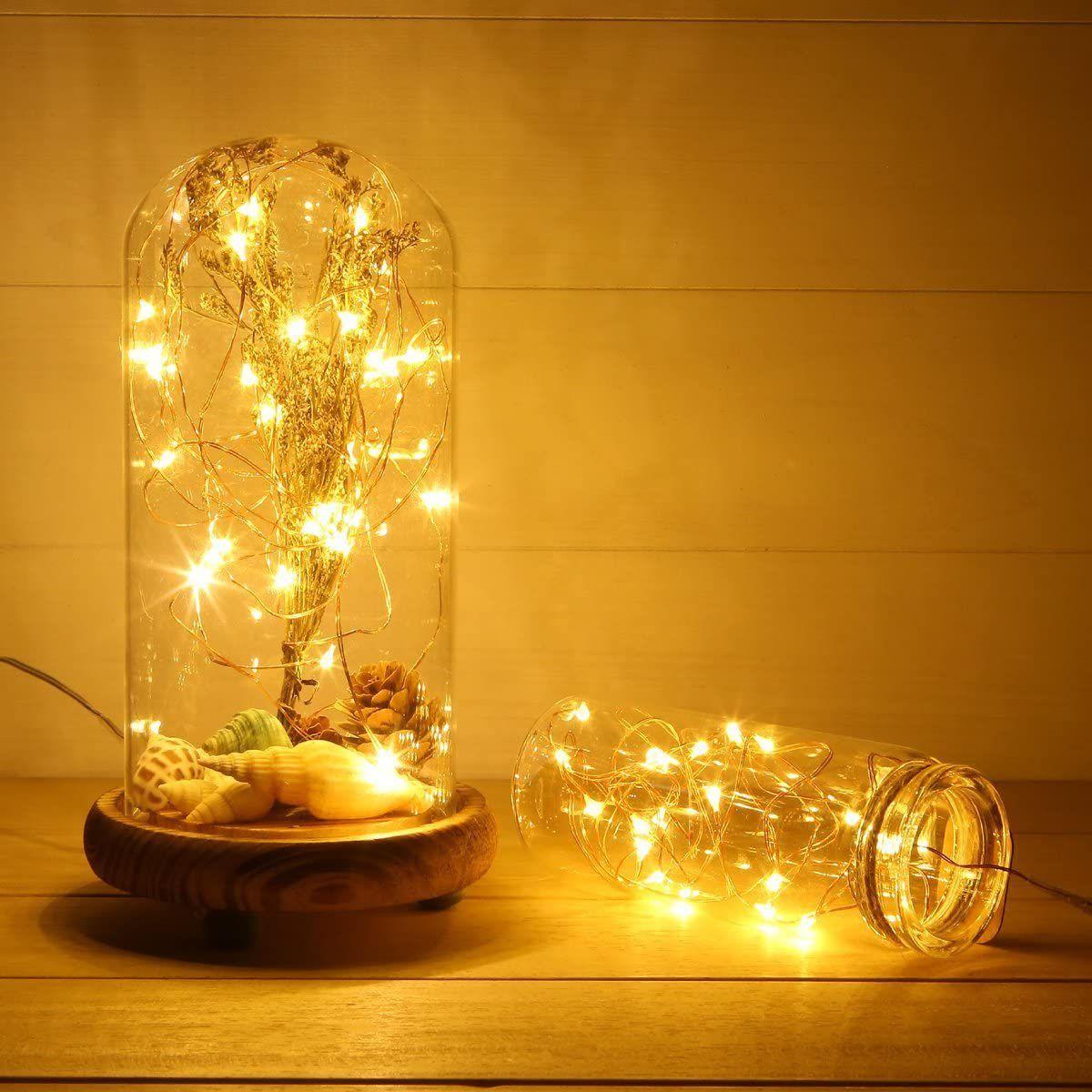Anjaylia LED Fairy String Lights