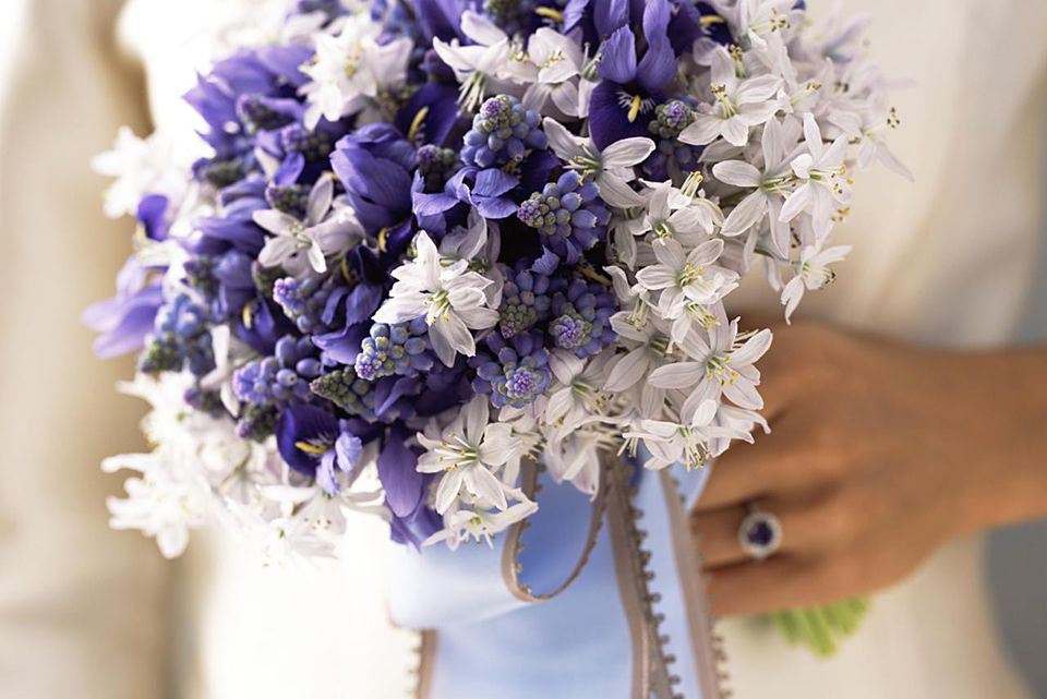 Spring Purple Bridal Bouquet