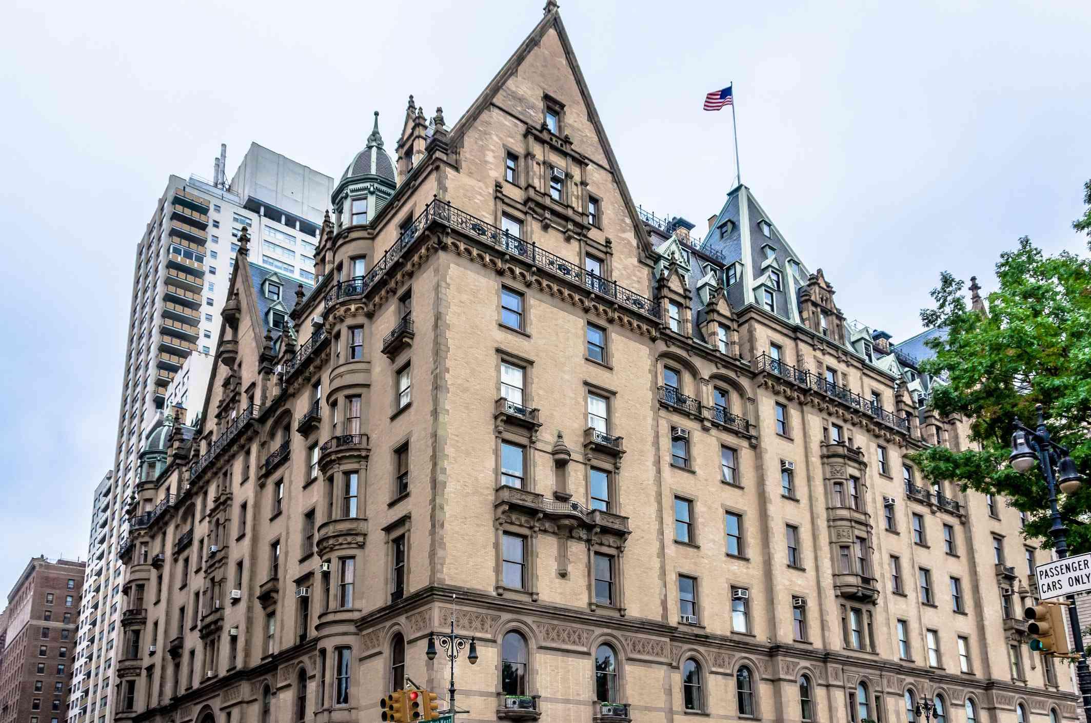 The Dakota prewar apartment building in NYC