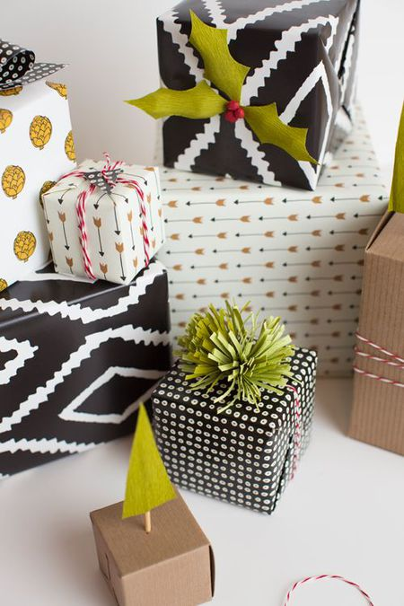 15 Modern Ways to Wrap Your Christmas Gifts