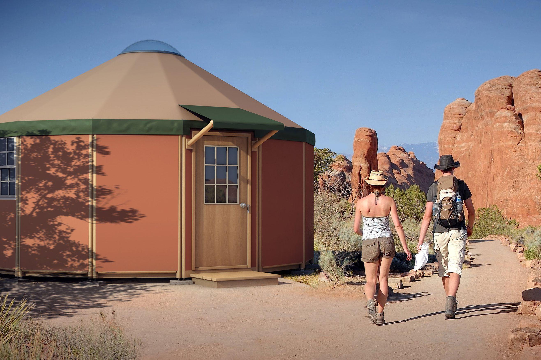 7 yurt kit for modern nomads
