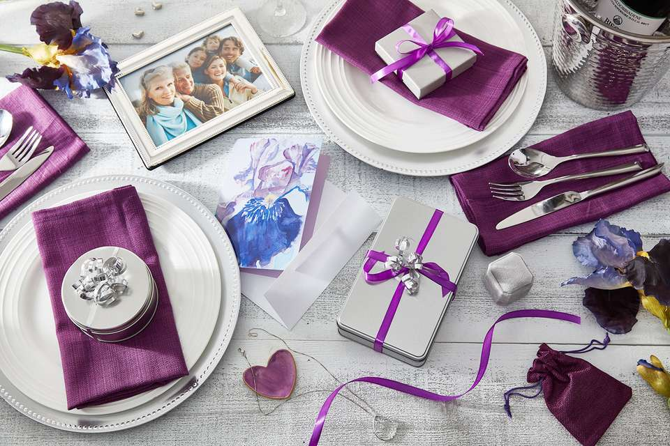 25th wedding anniversary gift ideas